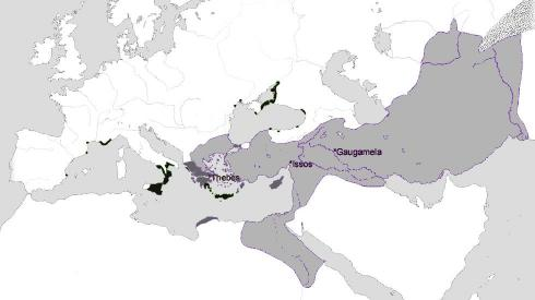 Hellenistic Greece Map.Hellenism